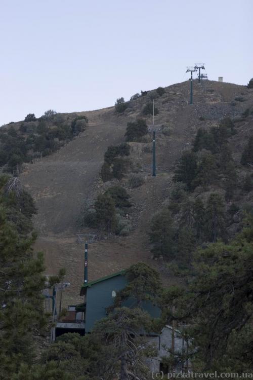 Небольшой лыжный курорт в Тродосе