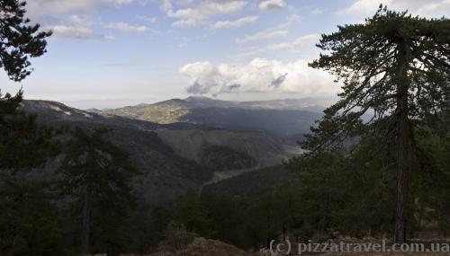 Вид с тропы Персефоны