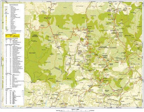 Карта Тродоса