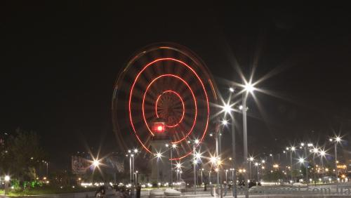 Ferris wheel in Batumi