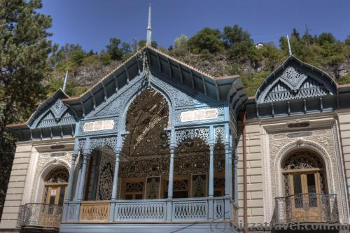 Unusual architecture in Borjomi