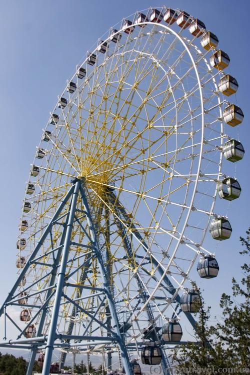 Ferris wheel in the Mtatsminda Park