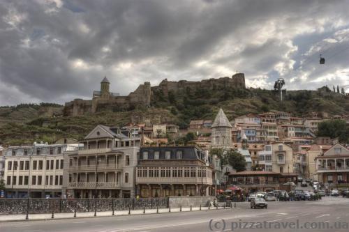 Вид на фортецю Нарікала