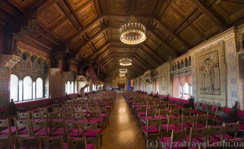 Великий зал замку Вартбург