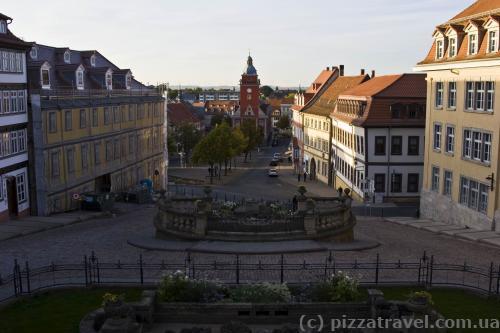 View of the Hauptmarkt