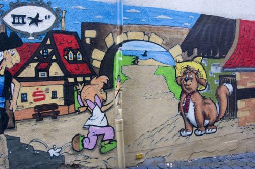 Graffiti in Gotha