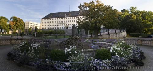 Fountain in Gotha (Wasserkunst)