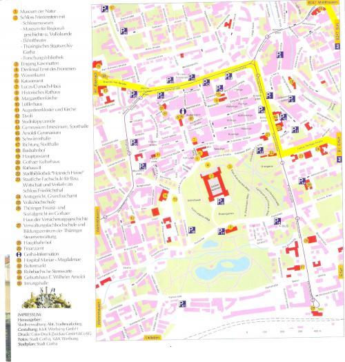 Map of Gotha