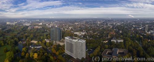 Вид на Дортмунд