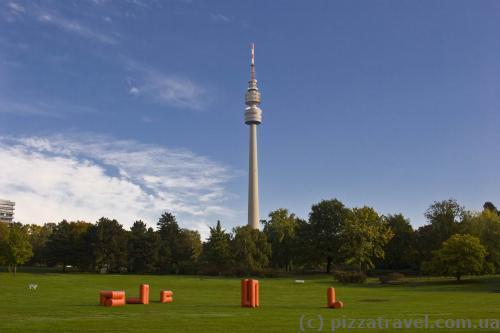 Парк Вестфален в Дортмунде