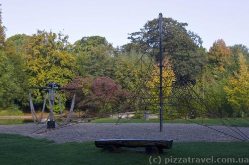 Детская площадка в парке Вестфален
