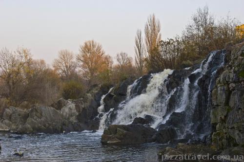 Водопад в Стеблёве