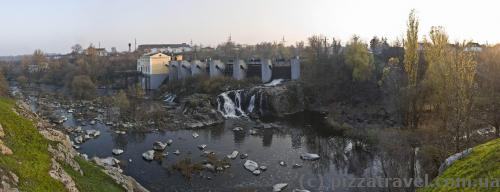 ГЭС в Стеблёве
