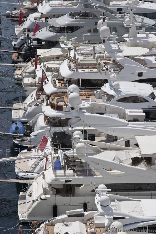 Яхты в Монако