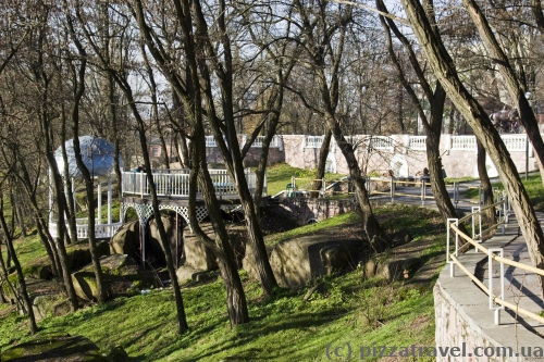 Парк Островского в Коростене