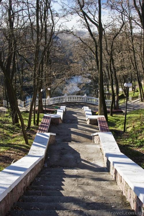 Ostrovsky Park in Korosten