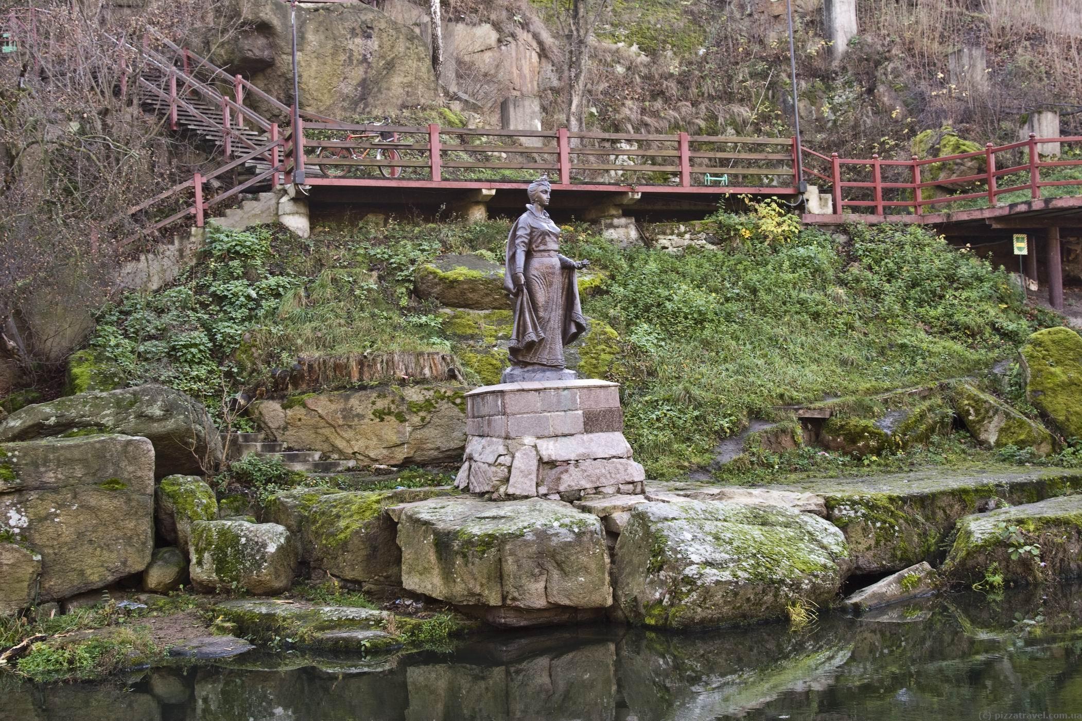 Парк Древлянський в Коростень фото