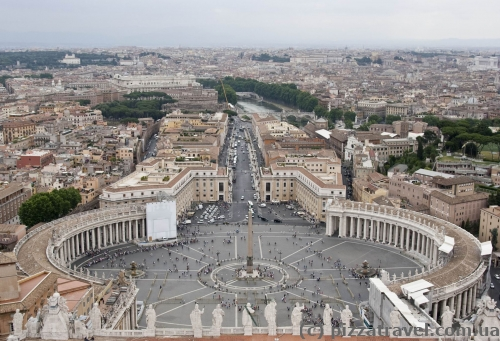 View of the St. Peter's Square