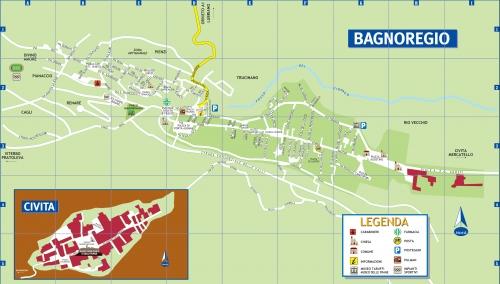 Карта Баньореджо