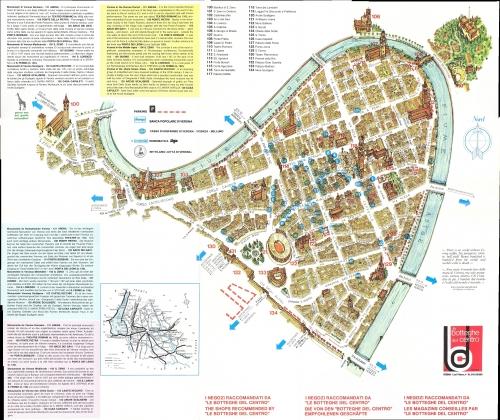 Карта Вероны