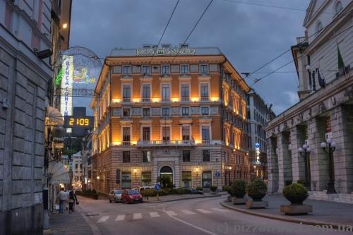 House near the Ferrari Square in Genoa