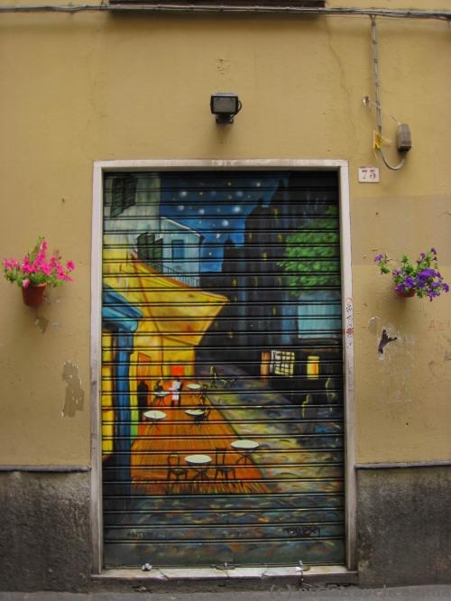 Graffiti in Genoa