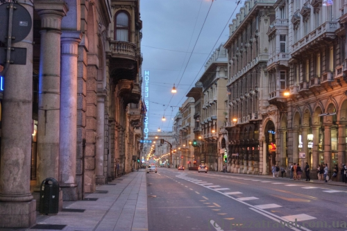 XX September Street in Genoa