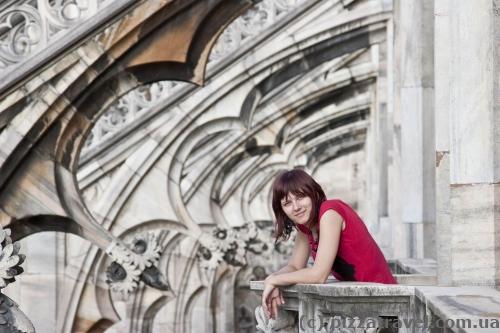На даху міланського собору