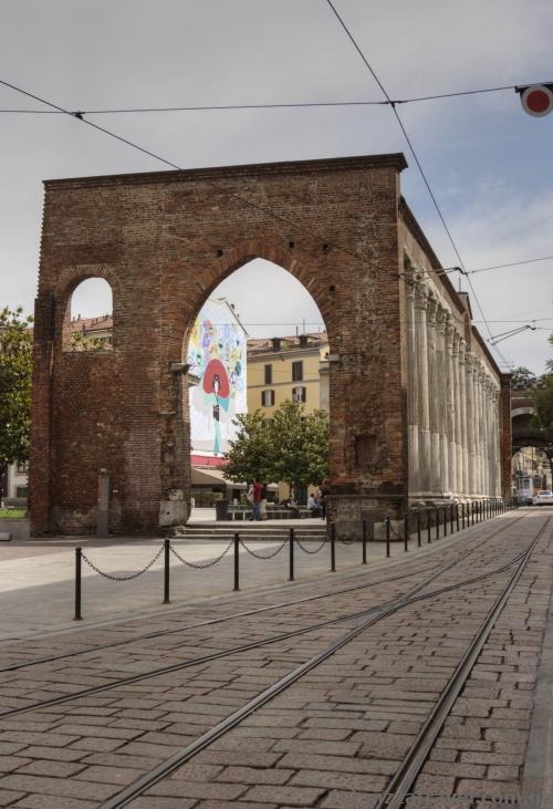 Колони Св. Лоренцо в Мілані