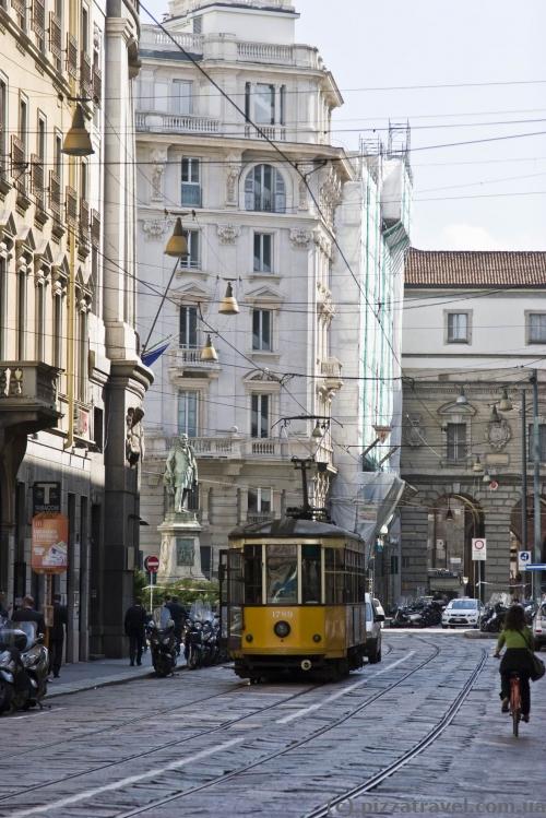 Трамвай у Мілані