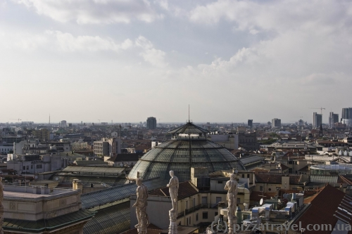 Вид з Міланського собору
