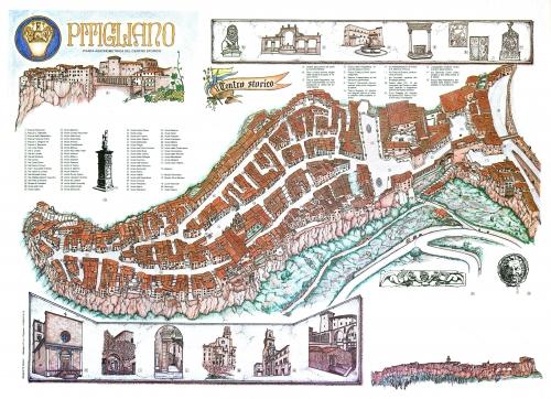 Карта Питильяно