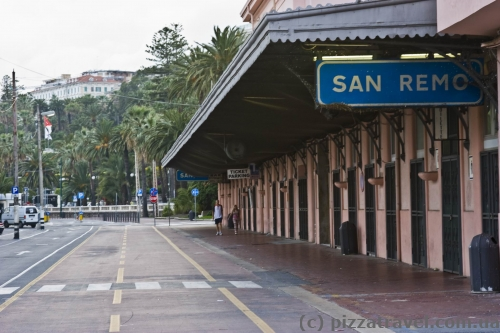 Former railway station in San Remo