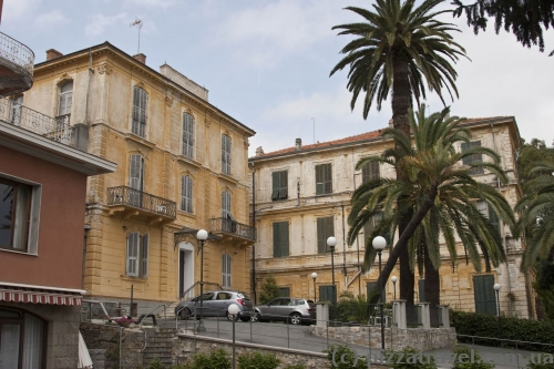 Our hotel in San Remo
