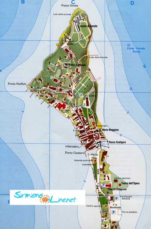 Map of Sirmione