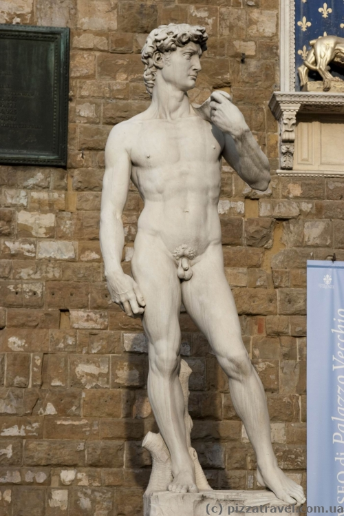 Copy of David by Michelangelo