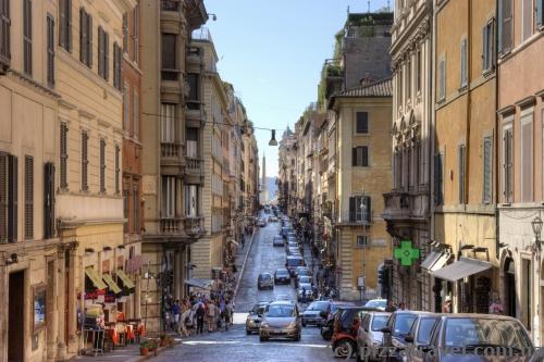 Улица Via Sistina