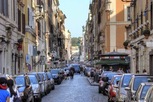 Улица Via del Babuino