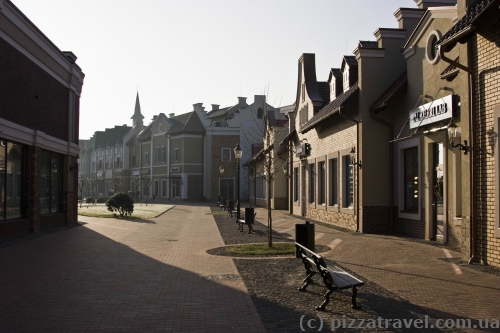 Мануфактура - аутлет-городок под Киевом