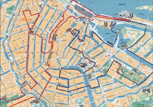 Велосипедні маршрути по Амстердаму
