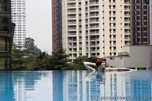 Pool of the Impiana KLCC hotel in Kuala Lumpur