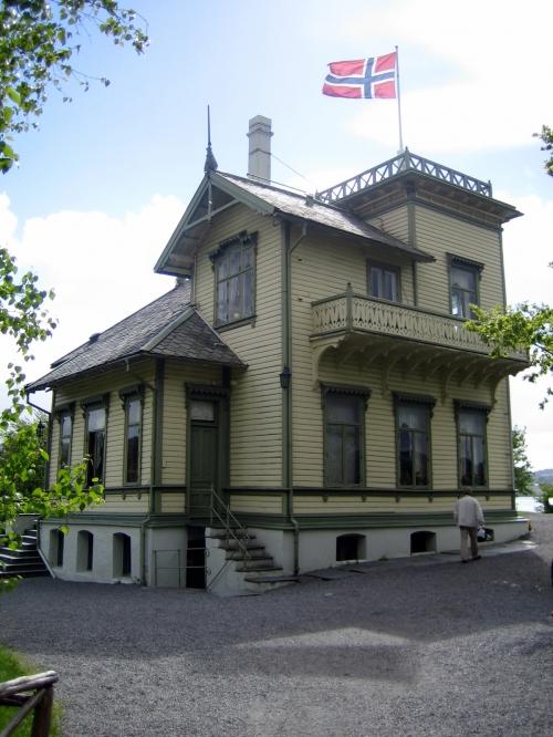 Тролльхауген (Холм Троллей) - дом норвежского композитора Эдварда Грига