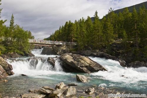 Polfossen Waterfall