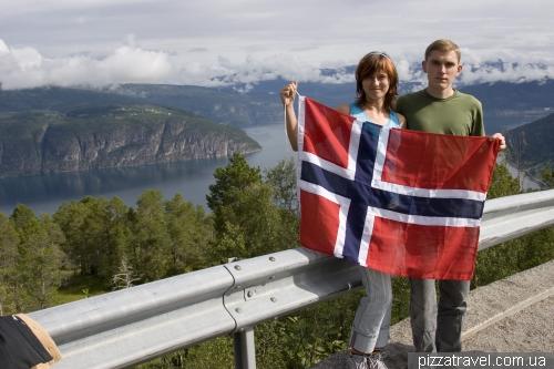 Viewpoint near Nordfjord