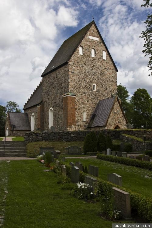 Medieval church of Old Uppsala