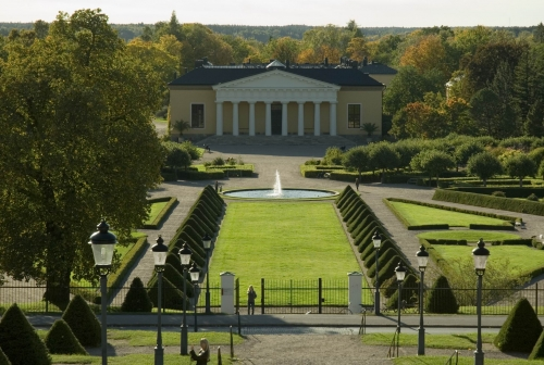 Botanical Garden in Uppsala