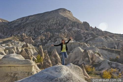 Monks Valley in Cappadocia