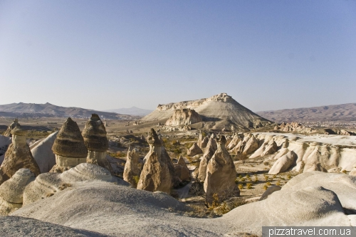Monks Valley in Cappadocia