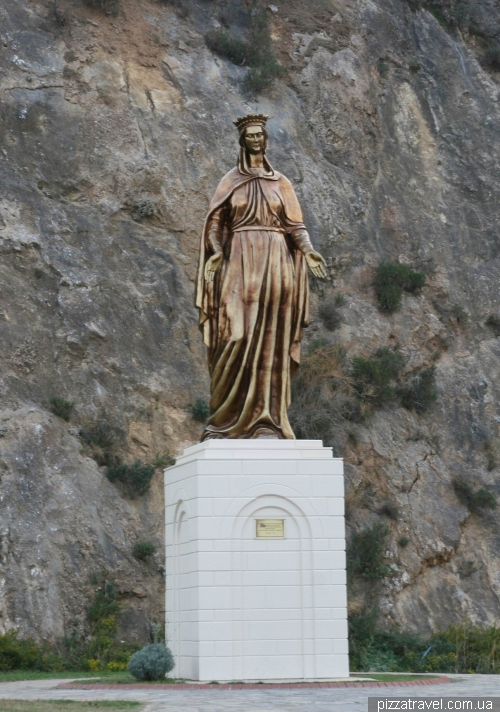 Monument to the Virgin Mary near Ephesus