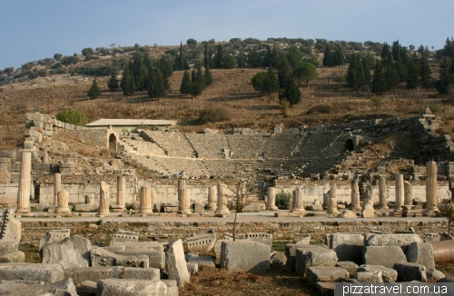 Small theater in Ephesus